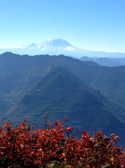 Mailbox Peak, October 7, 2012, 6 miles, 4100 ft