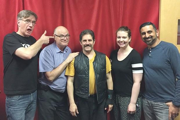 Phil, Bruce, Bob, Vanessa and Neel