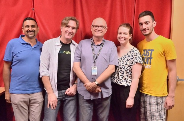 Neel, Phil, Bruce, Vanessa, and Raphael