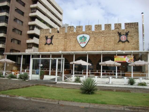 274 3º dia - Orla de Maceió - Praia de Ponta Verde - Pizzaria Foca Bier
