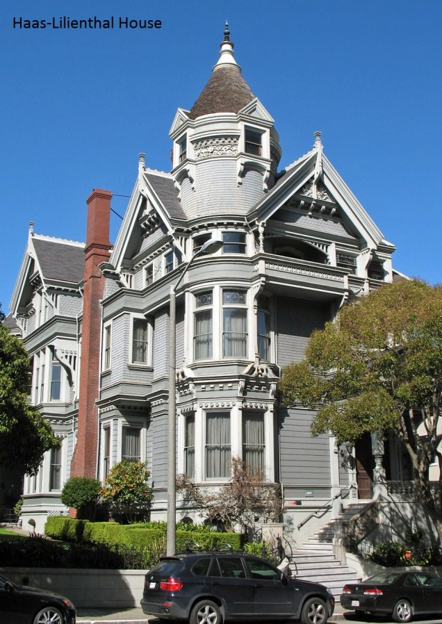 Haas-Lilienthal House, 2007 Franklin St, San Francisco