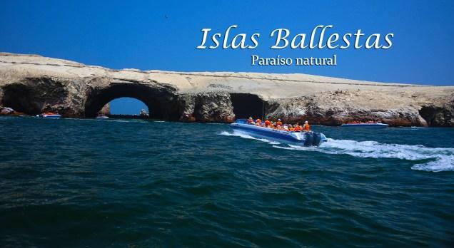 islas ballestas - embarcaciones