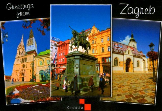 Zagreb, a capital da Croácia