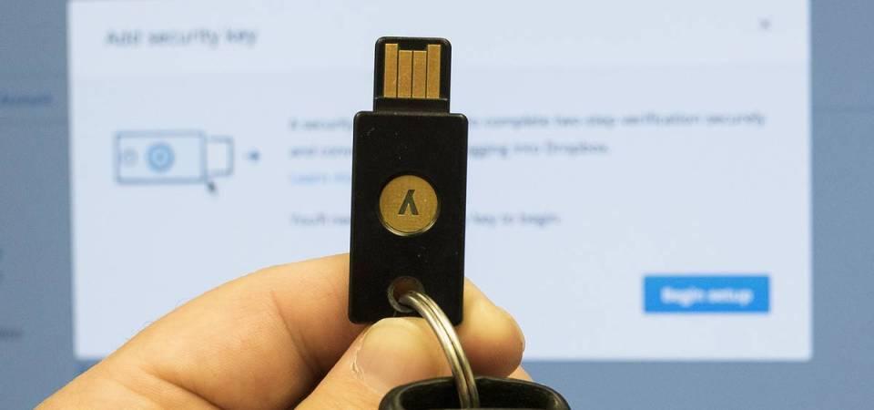 Dropbox permitirá usar chave USB para maior segurança