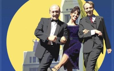 """CARLES MOREU en """"El Baile"""", bajo la dirección de Luis Olmos, protagonizada por Pepe Viyuela, Susana Hernández y Carles Moreu y versionada Bernardo Sánchez."""