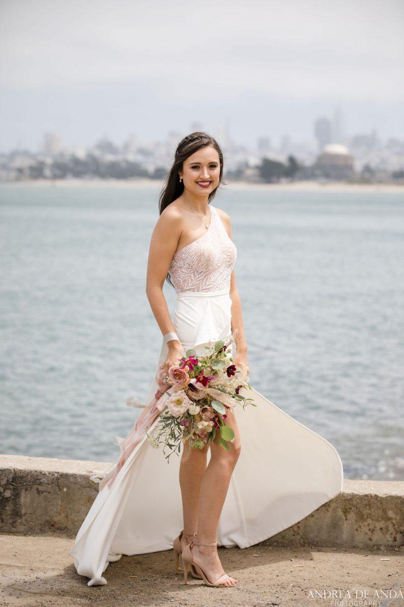Wedding Photos at San Francisco's Golden Gate Bridge