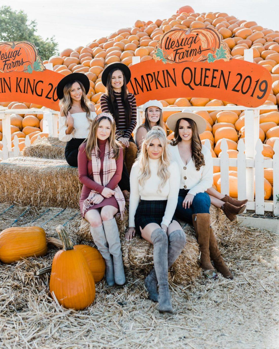 Pumpkin Patch Besties