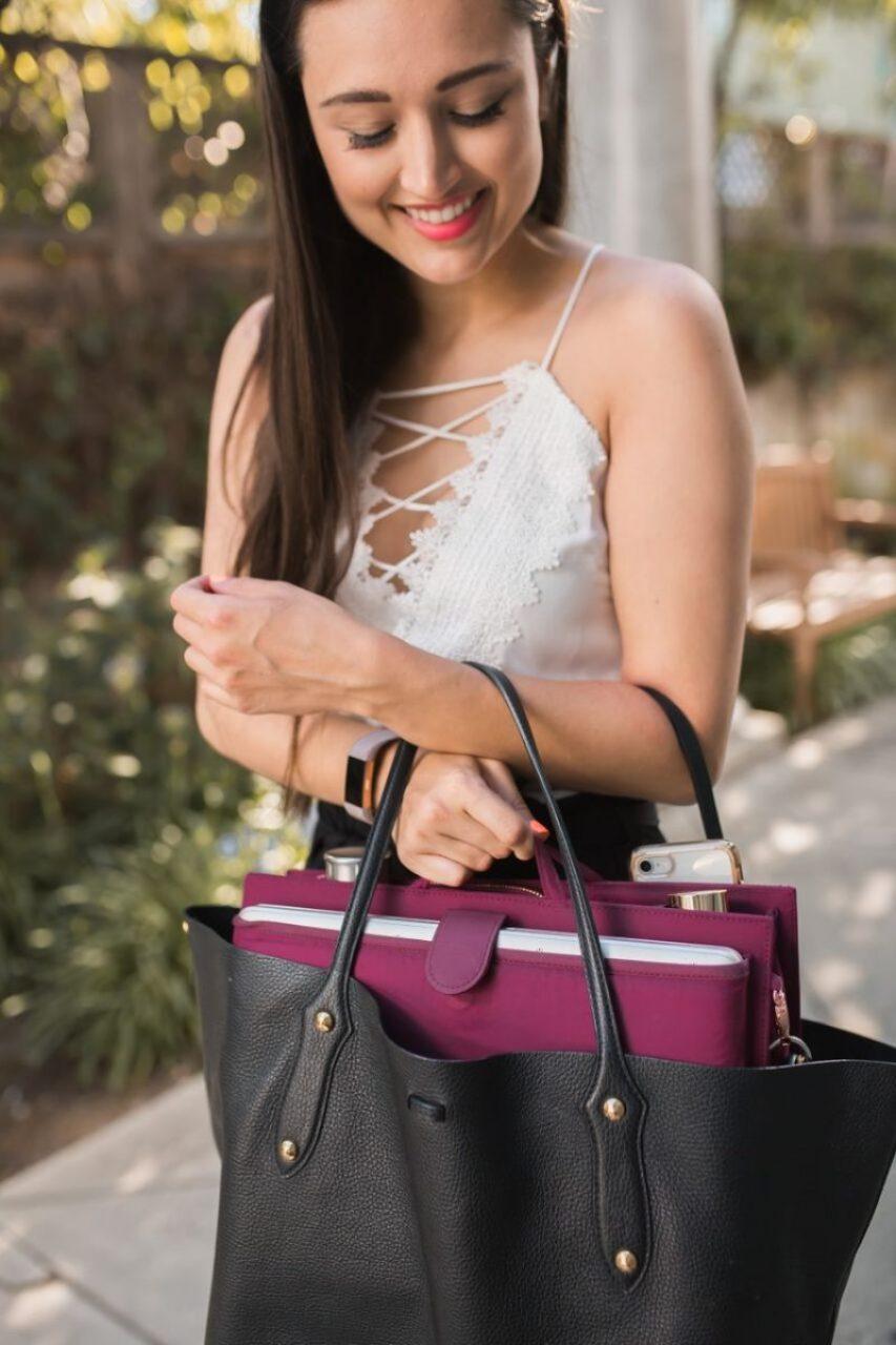 ToteSavvy Review, Insert Organizer Turns Handbag or Purse into Diaper Bag