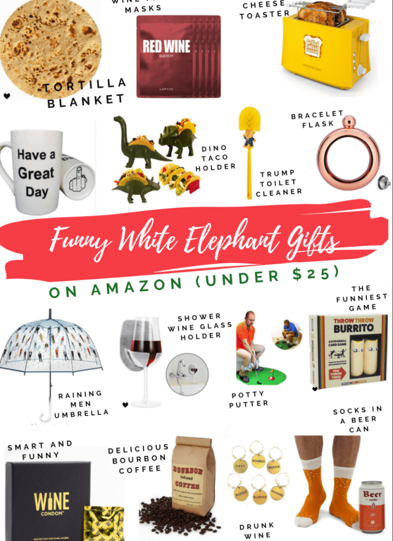 Unique White Elephant Gifts on Amazon Under $25