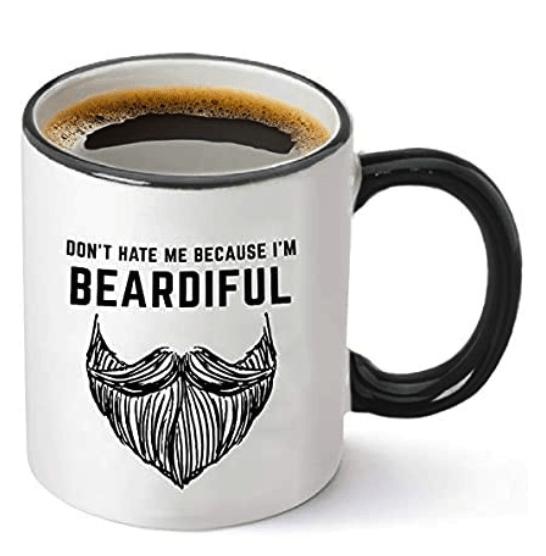 Stocking Stuffer Ideas for Men For Under $25 - Beardiful Mug