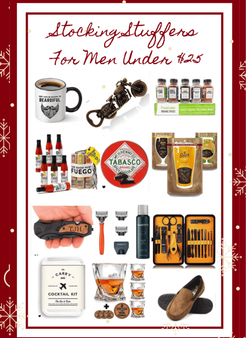 Best Stocking Stuffers For Men on Amazon Under $25