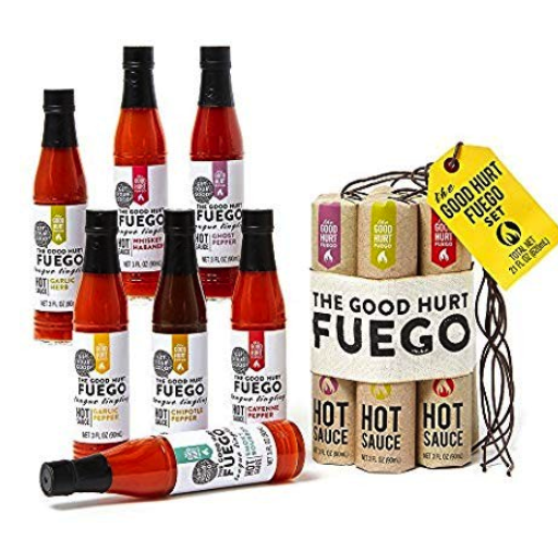 Stocking Stuffers for Men Under $25 - Dynamite Hot Sauce Set