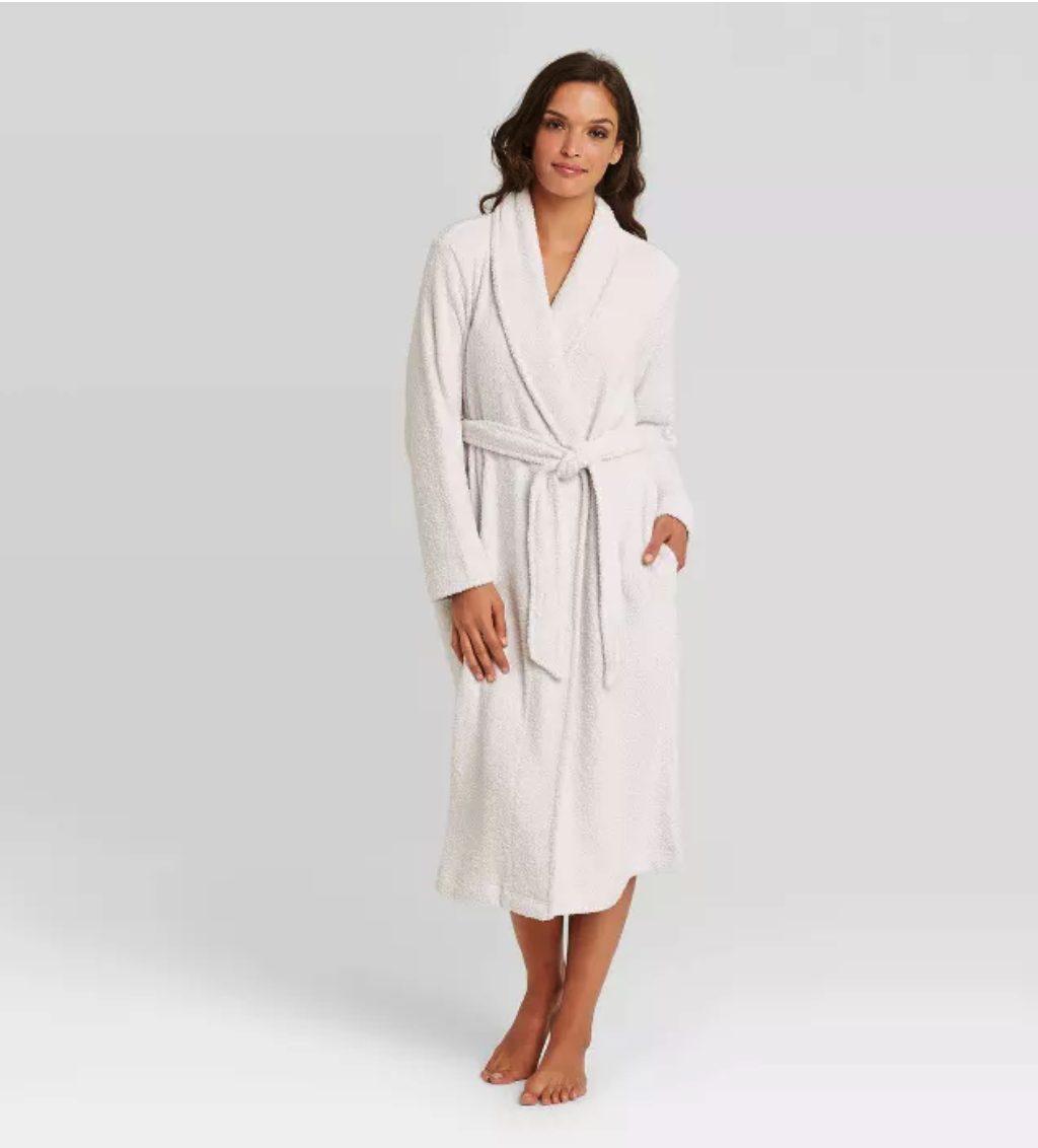 Chenille Robe