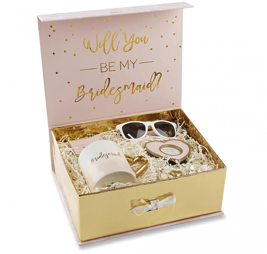 Personalized Cute Pre-made Bridesmaid Proposal Boxes