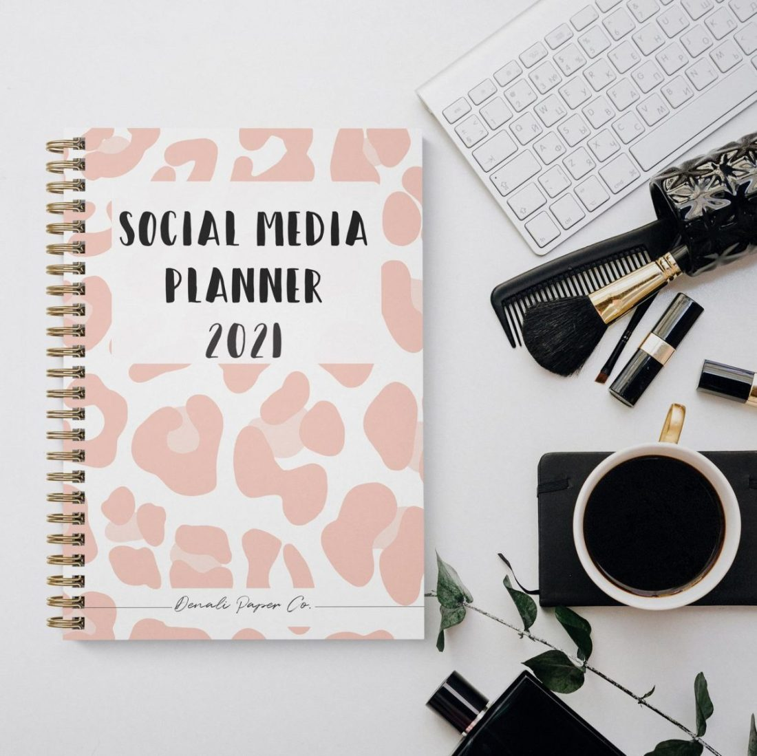 Physical Instagram and Social Media Planners