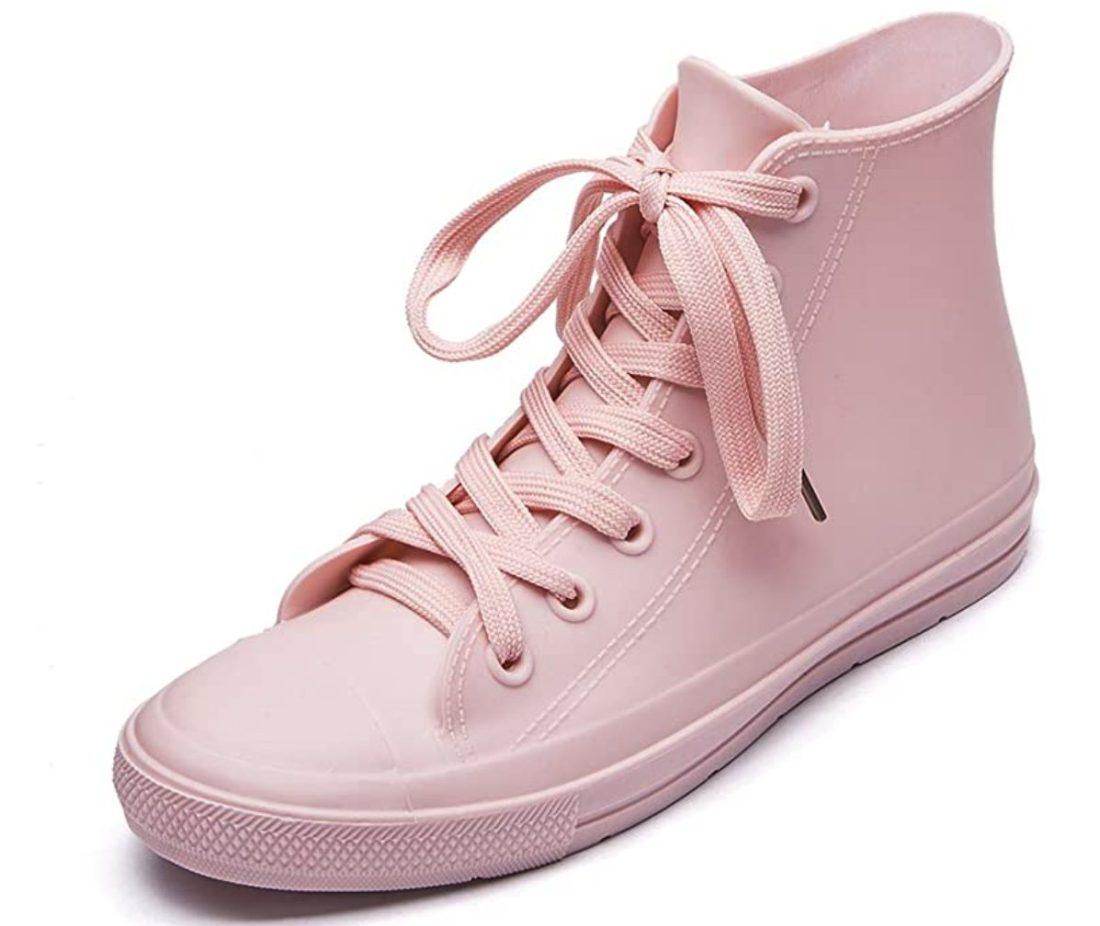 Cute Pink Sneakers