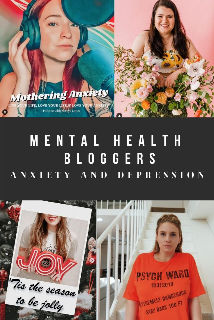 6 Bloggers with Anxiety and Depression – Mental Health Bloggers
