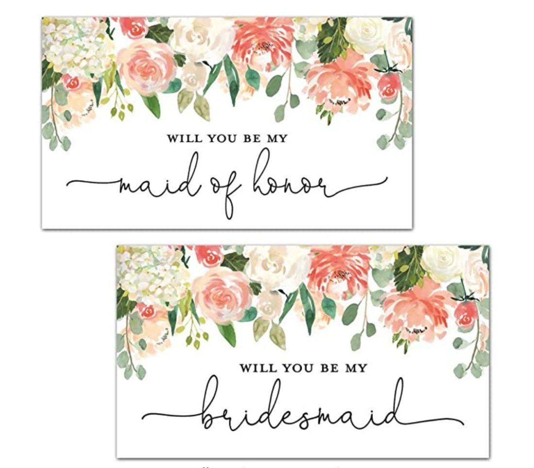 DIY Bridal Proposal Printable Champagne Labels