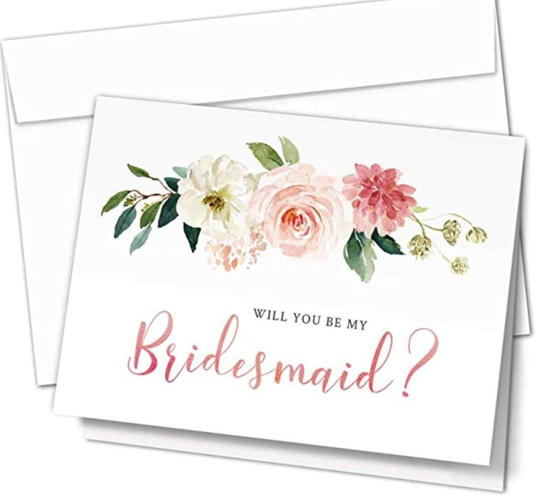 DIY Bridesmaid Proposal Cards