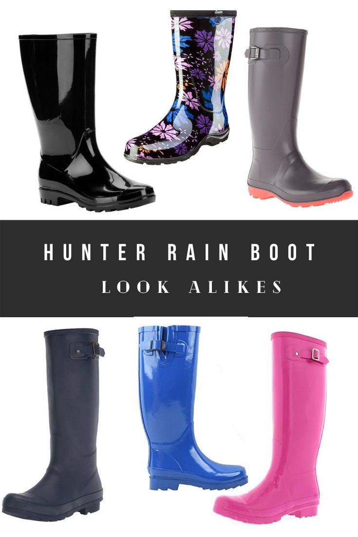 Hunter Rain Boots Dupes, Alternatives, Inspired, Look Alikes