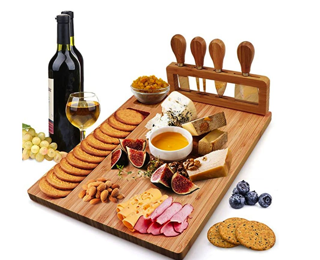 Bamboo Cheese Board for Entertaining