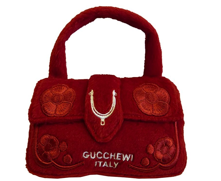 Designer Parody Dog Toys, Gucci, Gucchewi