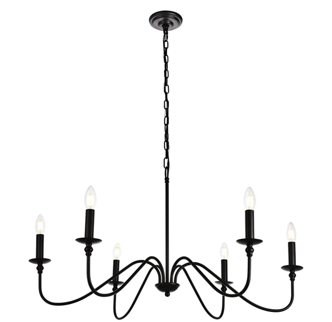 Lucca Chandelier Knockoff