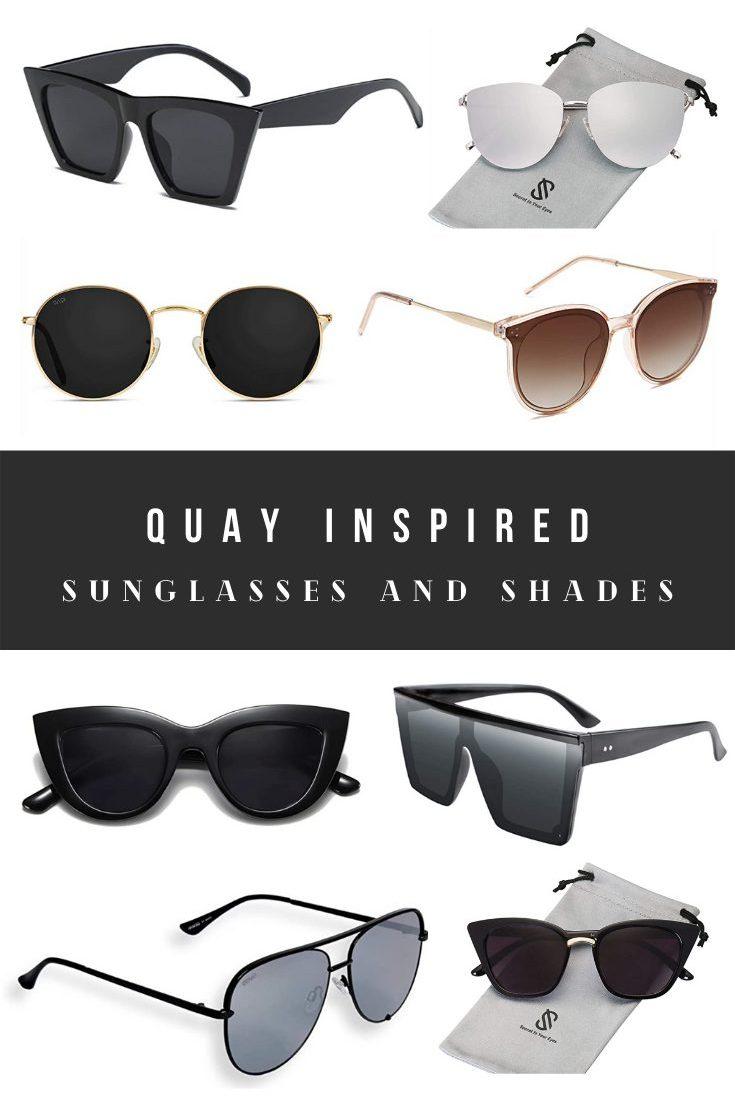 7 Quay Sunglasses Dupes, Alternatives, and Look Alikes