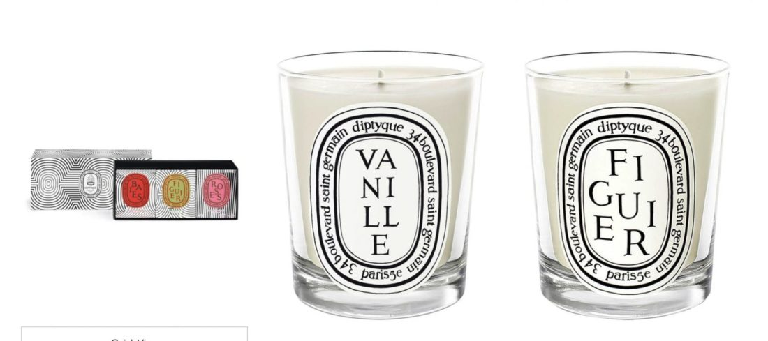 Real Diptyque Candles
