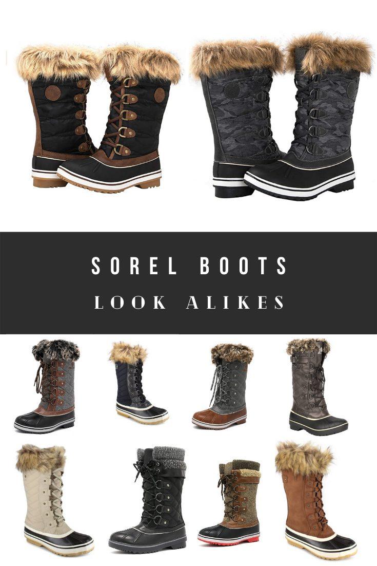 Sorel Boots Dupes, Look Alikes, Inspired, Alternatives