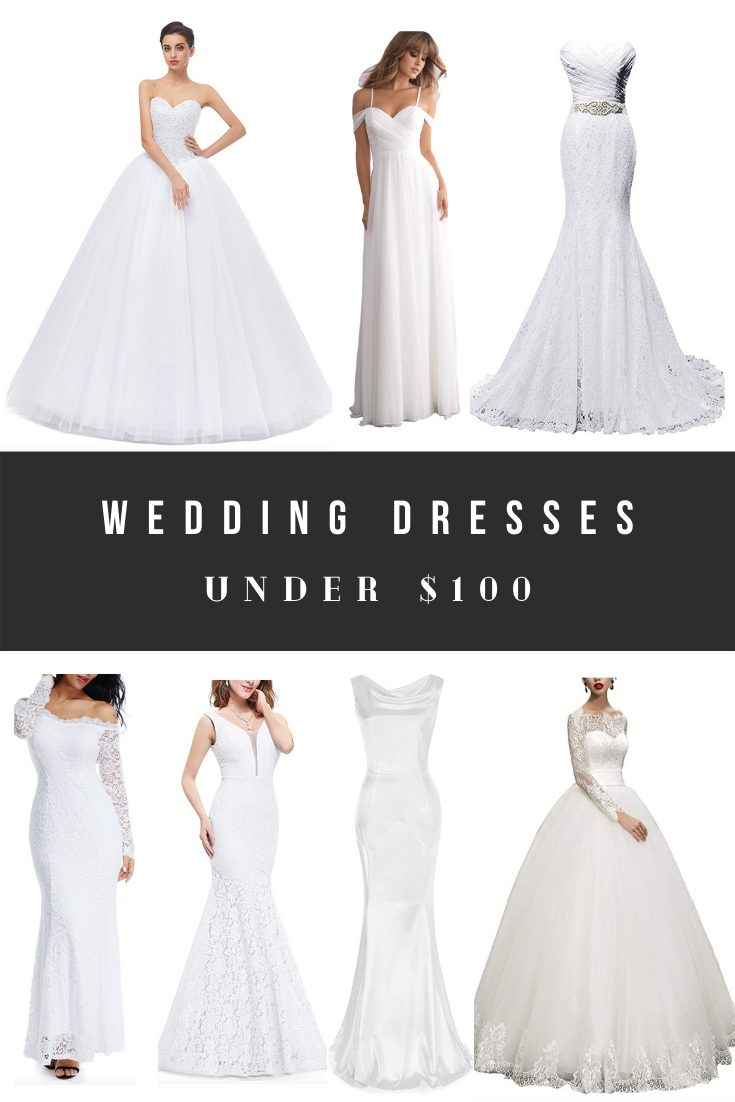 Cheap Top Rated Wedding Dresses Under $100