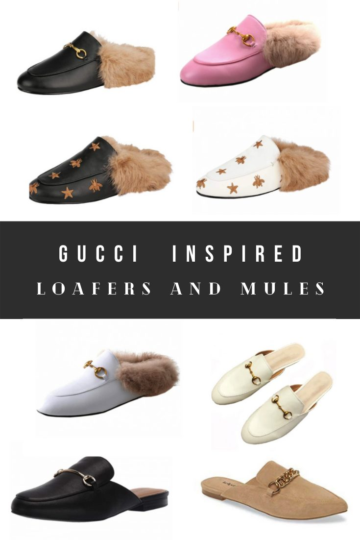 Gucci Mules Dupes