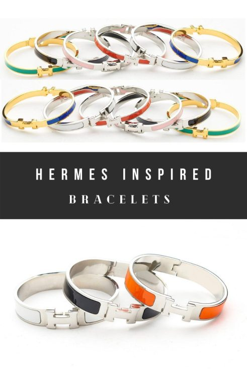 Cheap Hermes Bracelets Dupes, H Cuff Inspired Bracelets, and Faux H Bangle Look Alikes