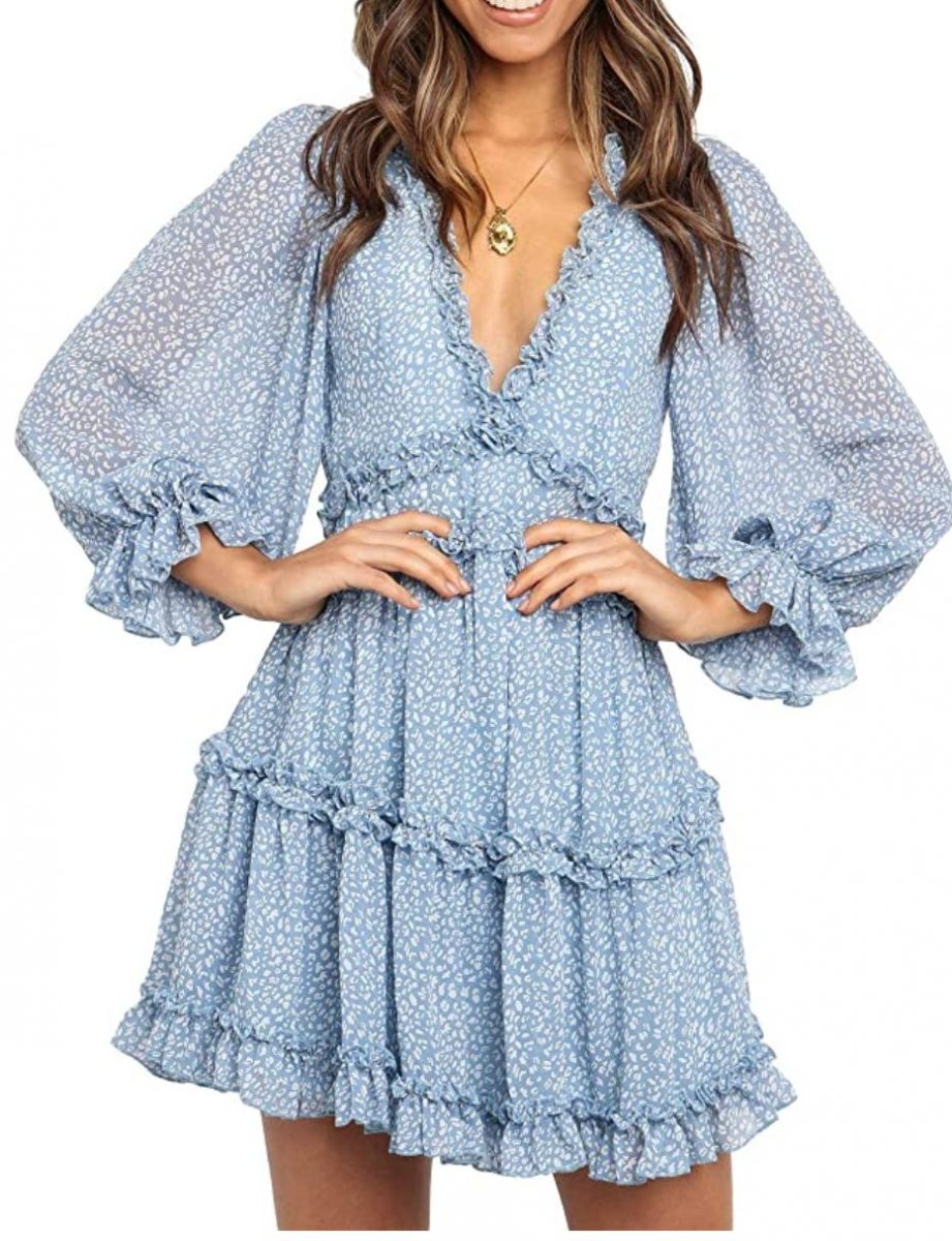 Modern Bridgerton Style Dress