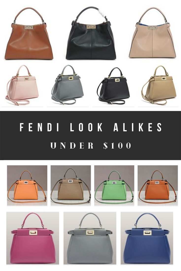 Best Fendi Dupes, Peekaboo Dupes