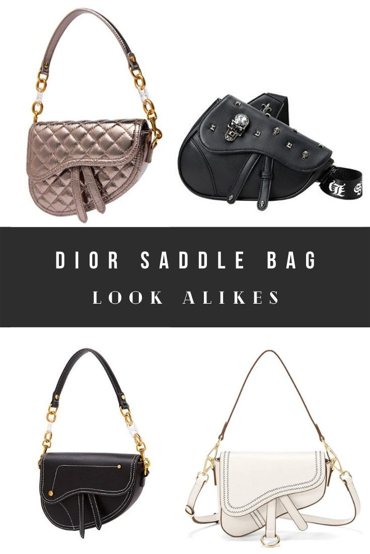 Christian Dior Saddle Bag Dupes and Look Alikes