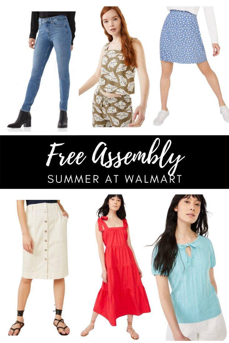 Free Assembly at Walmart