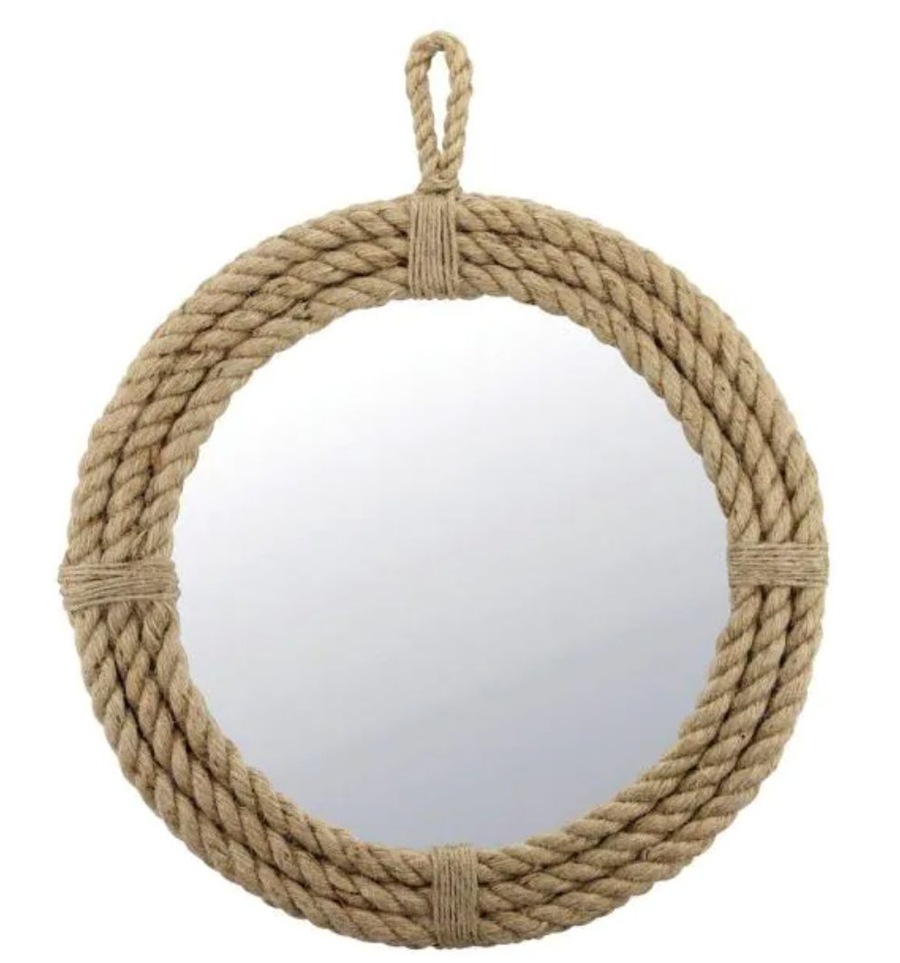 Nautical Rope Arch Mirror Dupes