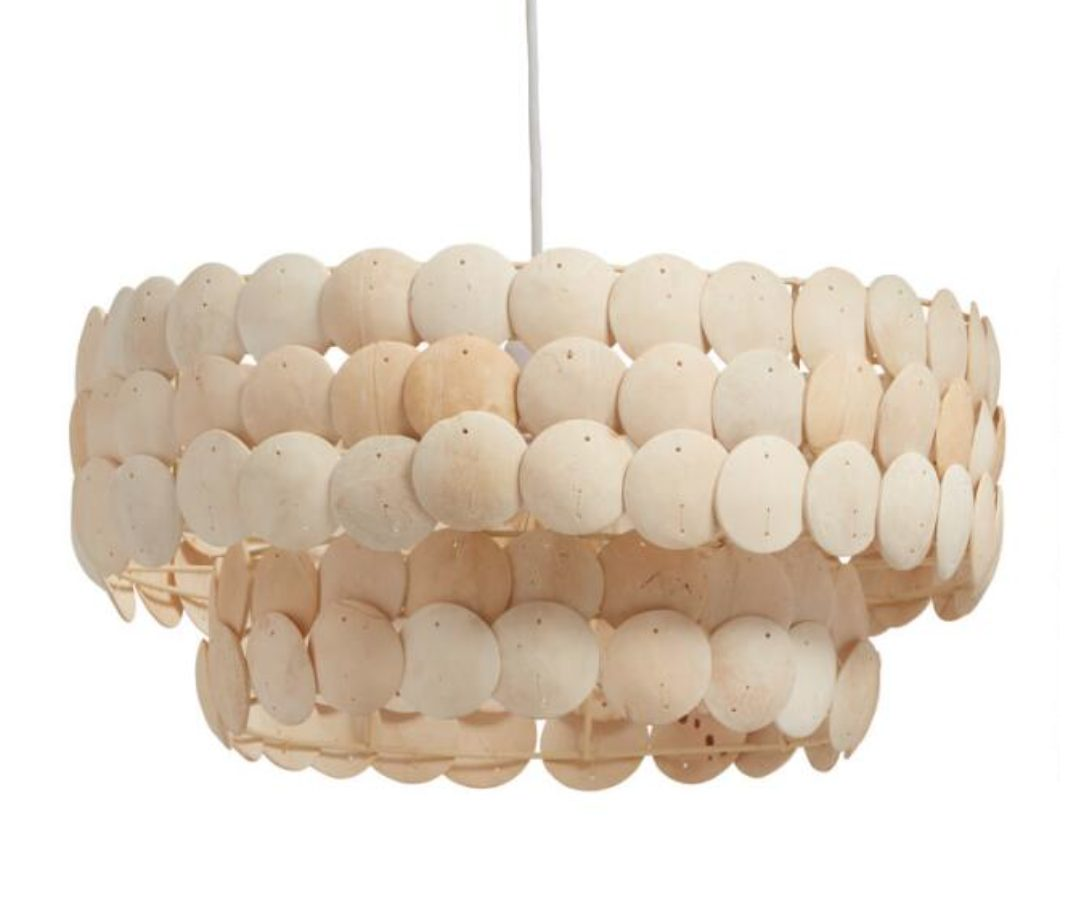 Serena and Lily Pescadero Tiered Chandelier Dupes