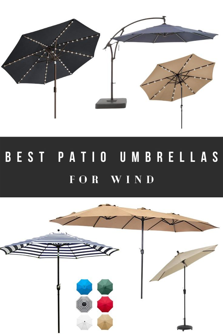 Best Patio Umbrellas for Wind – Outdoor and Backyard