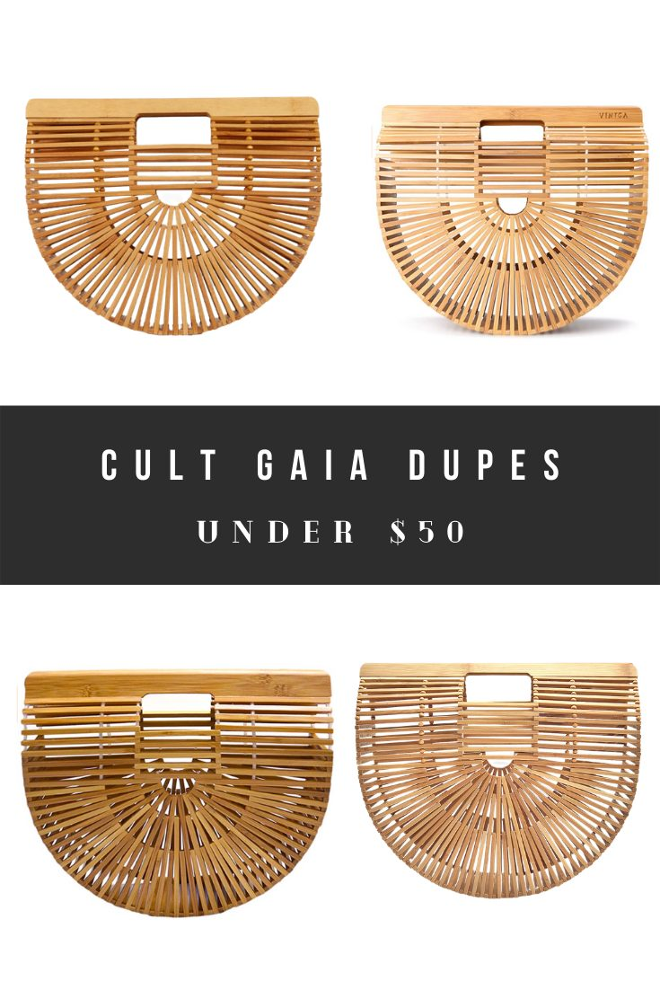 Cheap Cult Gaia Dupes and Look Alikes - Ark Bamboo Bags