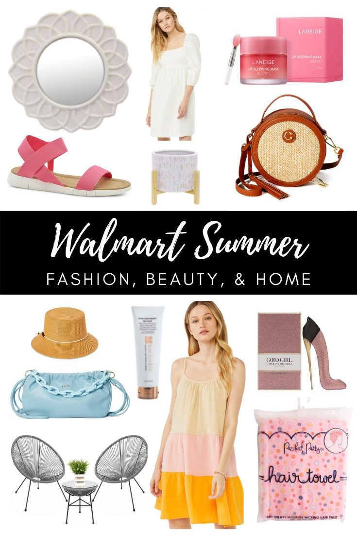 Walmart Summer Styles and Home Decor