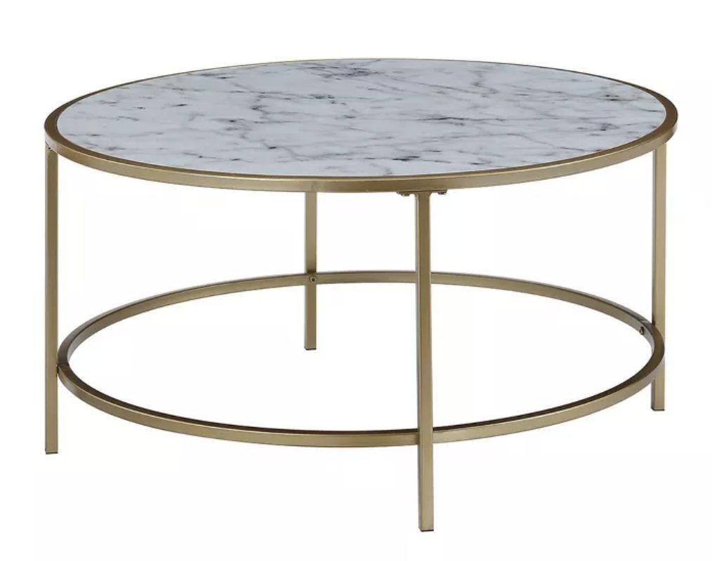 Leavenworth Marble Coffee Table Look Alikes