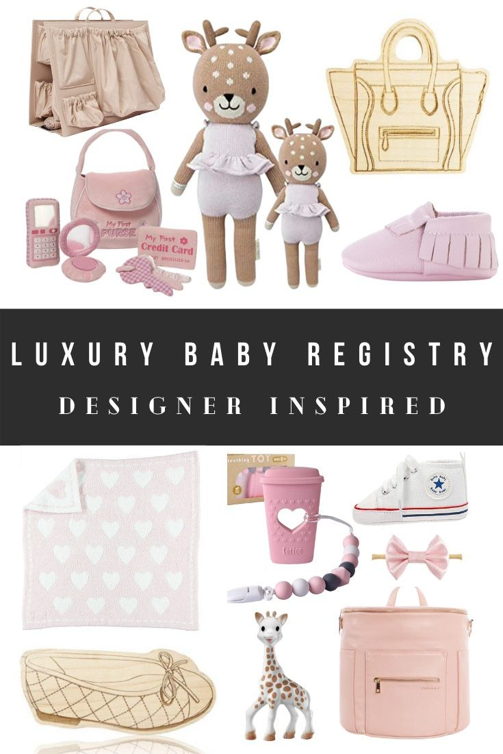 Cheap Designer Baby Registry and Luxury Baby Shower Gifts