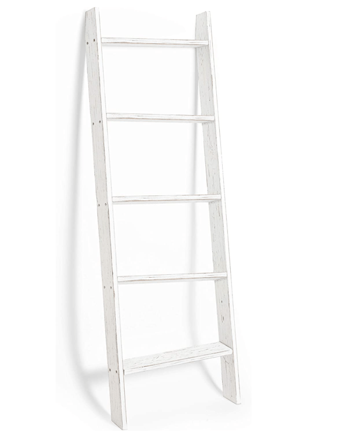 Rustic Towel Ladder