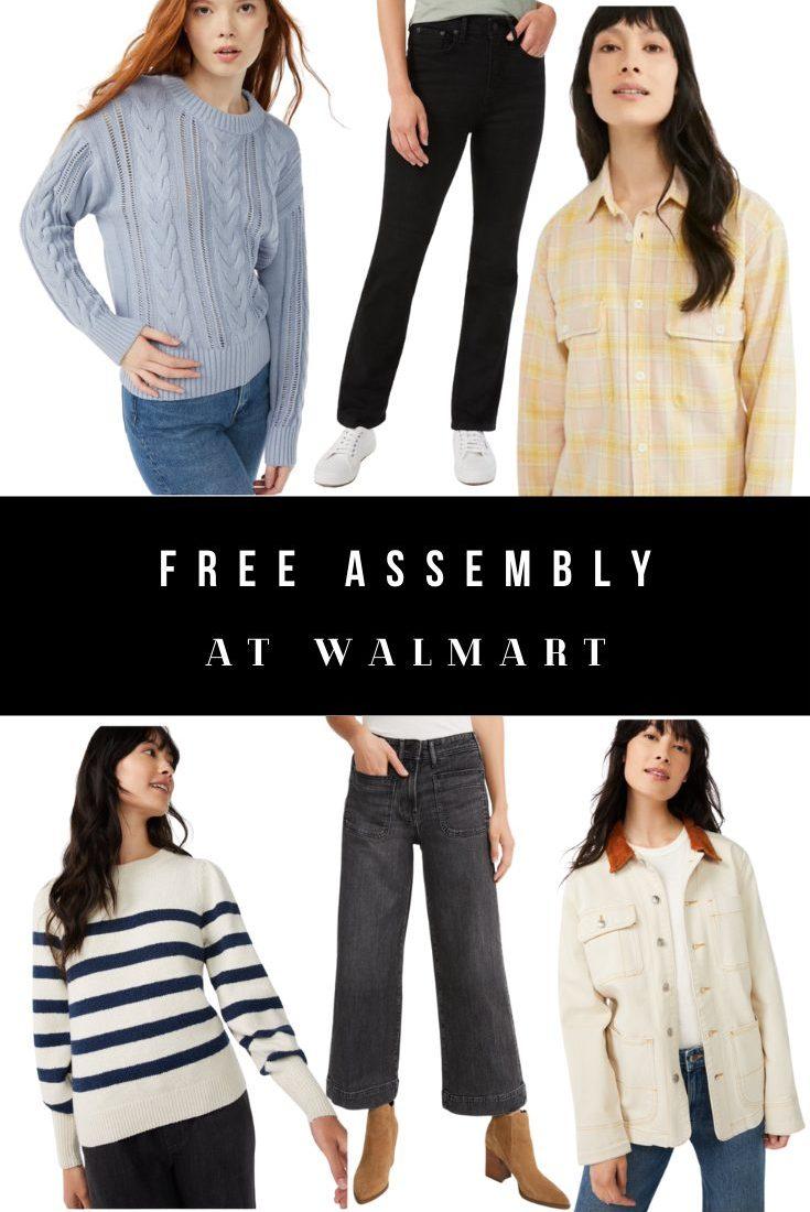 Free Assembly Fall Style at Walmart