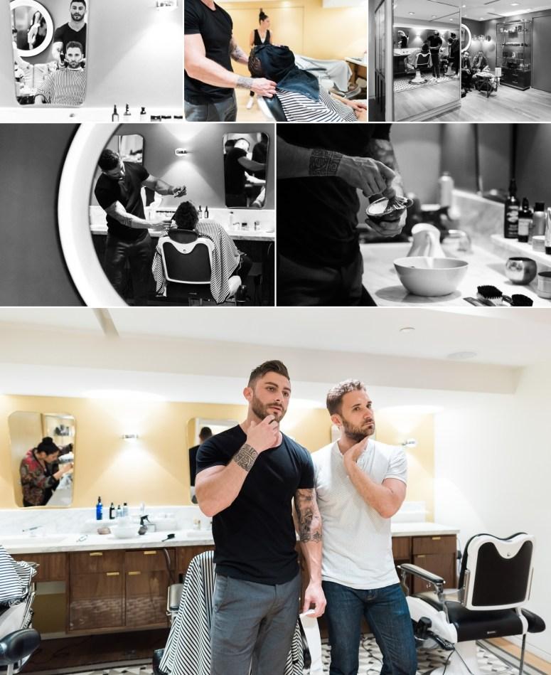 Préparatifs O'Barbershop Parie Rive Gauche