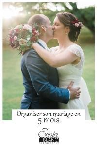 Organiser son mariage en 5 mois