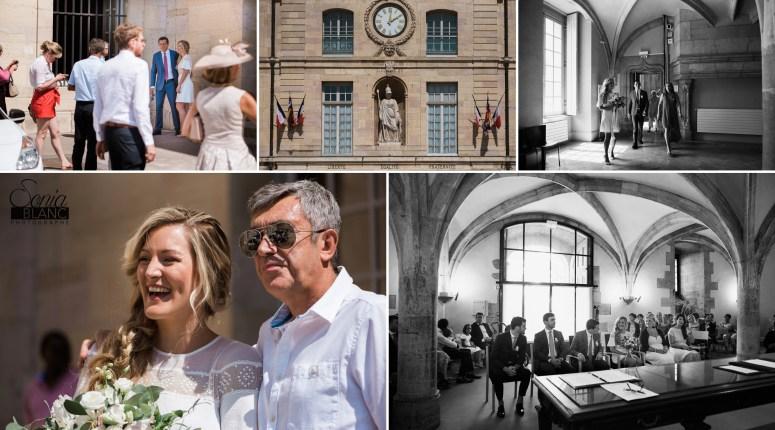 mairie de dijon - mariage civil - sonia blanc photographe