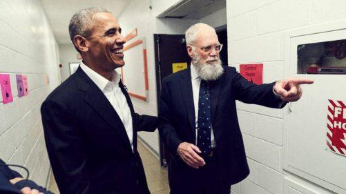Obama y David Letterman